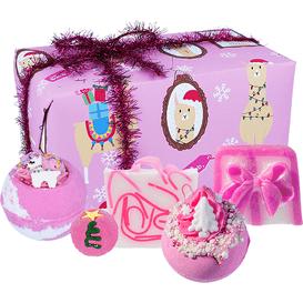 Bomb Cosmetics Zestaw upominkowy - Fleece Navidad, 5 szt.
