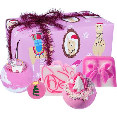 Zestaw upominkowy - Fleece Navidad Bomb Cosmetics