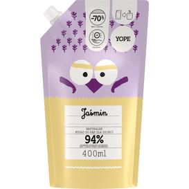 Yope Naturalne mydło do rąk dla dzieci - Jaśmin - refill, 400 ml