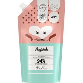 Yope Naturalne mydło do rąk dla dzieci - Nagietek - refill, 400 ml