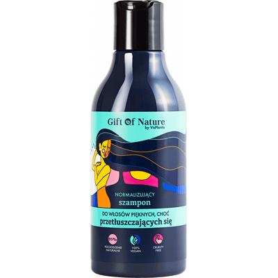 Normalizujący szampon do włosów przetłuszczających się Gift of Nature