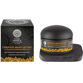 Natura Siberica Północne mydło Detoks do mycia twarzy, 120 g