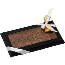 M.Pelczar Chocolatier Czekolada Święty Mikołaj na saniach, 100 g