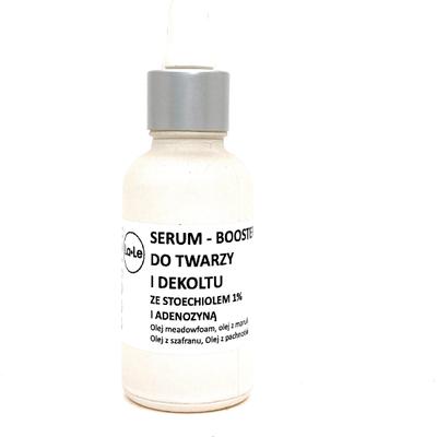 Serum-booster do twarzy ze stoechiolem i adonezyną La-Le Kosmetyki