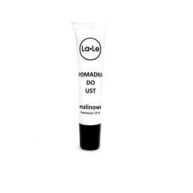 La-Le Kosmetyki Pomadka nawilżająca do ust w tubie - Malina, 15 ml