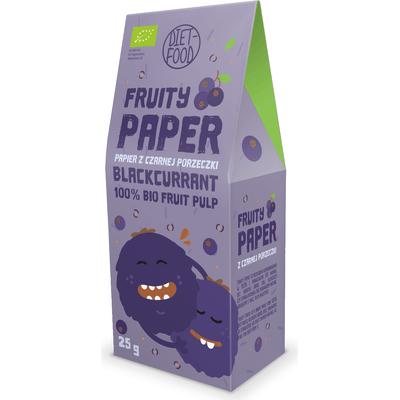 Papier owocowy - 100% bio czarna porzeczka Diet Food