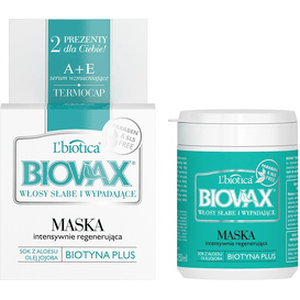 L'biotica Maska do włosów słabych ze skłonnością do wypadania