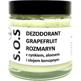 La-Le Kosmetyki [OUTLET] Dezodorant ekologiczny w kremie - Grapefruit - rozmaryn