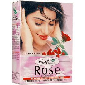 Hesh [OUTLET] Maseczka z płatków róży, 50 g