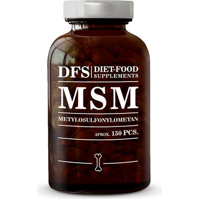 MSM - Organiczny związek siarki - suplement diety w tabletkach Diet Food