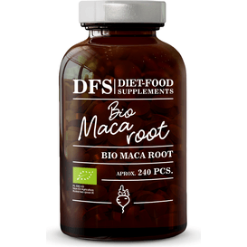Diet Food Bio Maca Root - Korzeń macy ekstrakt 4:1 - suplement diety w tabletkach