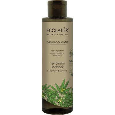 Teksturyzujący szampon do włosów - Moc i objętość Ecolatier