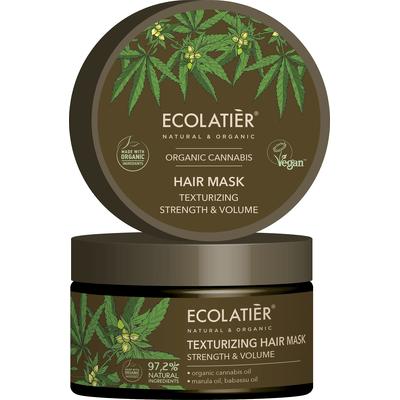 Teksturyzująca maska do włosów - Moc i objętość Ecolatier