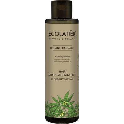 Wzmacniający włosy olejek - Elastyczność i wzmocnienie Ecolatier