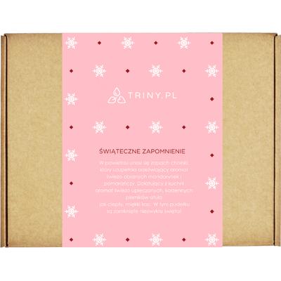 Zestaw kosmetyków pachnących Świętami By Triny