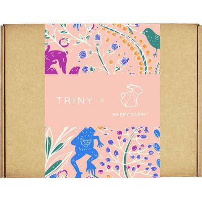 TRINY x HappyRabbit - Wegański zestaw kosmetyków bez okrucieństwa By Triny