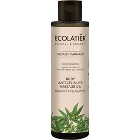 Ecolatier Olejek antycellulitowy do masażu - Jędrność i relaks, 200 ml