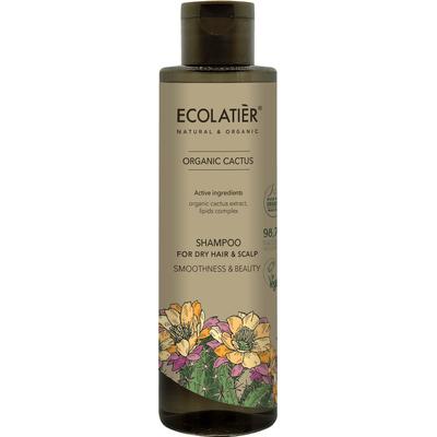 Szampon do włosów suchych - Wygładzenie i piękno Ecolatier