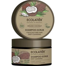 Ecolatier Szampon-peeling do skóry głowy i włosów - Głębokie oczyszczenie, 250 ml