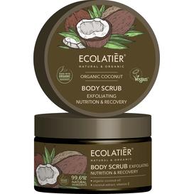 Ecolatier Złuszczający peeling do ciała - Odżywienie i odnowa, 300 ml