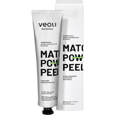 Multikwasowy peeling enzymatyczny do twarzy - Matcha power peel Veoli Botanica