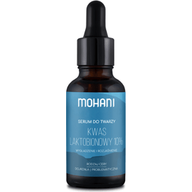 Mohani Rozjaśniające serum do twarzy z kwasem laktobionowym 10%, 30 ml