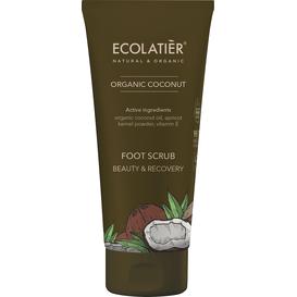 Ecolatier Peeling do stóp - Piękno i odnowa, 100 ml