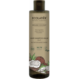 Ecolatier Szampon-balsam do włosów 2w1 z ekstraktem z kokosa
