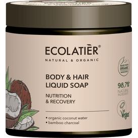 Ecolatier Mydło w płynie do ciała i włosów - Odżywienie i odnowa