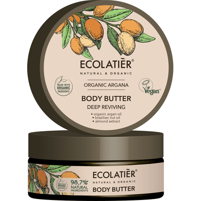 Masło do ciała - Głębokie odżywienie Ecolatier