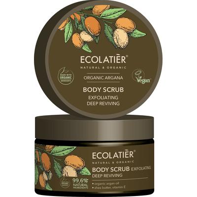 Złuszczający peeling do ciała - Głębokie odżywienie Ecolatier