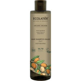 Ecolatier Szampon-balsam do włosów 2w1 - Głębokie odżywienie