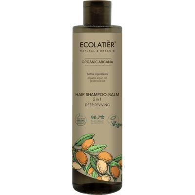 Szampon-balsam do włosów 2w1 - Głębokie odżywienie Ecolatier