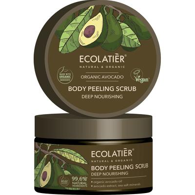 Głęboko odżywczy peeling do ciała Ecolatier