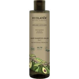 Ecolatier Szampon-balsam do włosów 2w1 - Odżywienie i siła