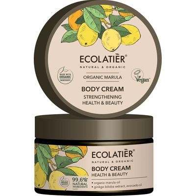 Wzmacniający krem do ciała - Zdrowie i piękno Ecolatier
