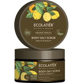 Ecolatier Olejowy peeling do ciała - Zdrowie i piękno, 250 g