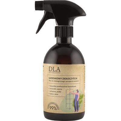 Płyn do sprzątania łazienki - Łazienkowy ziołoczyścik Kosmetyki DLA