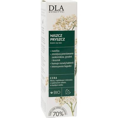 Regulujący krem na noc - Niszcz pryszcz Kosmetyki DLA