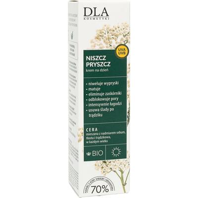 Regulujący krem na dzień - Niszcz pryszcz  Kosmetyki DLA