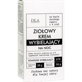 Kosmetyki DLA Ziołowy krem wybielający z aktywatorem, 2 szt.