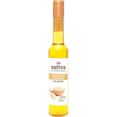Naturalny olej sezamowy Sattva Ayurveda