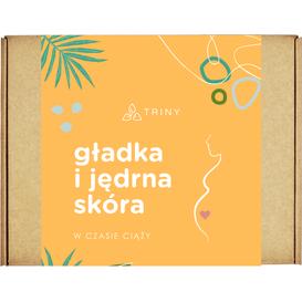 By Triny Zestaw kosmetyków dla kobiet w ciąży - Gładka i jędrna skóra, 7 szt.