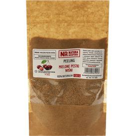 Natura Receptura Peeling z mielonych pestek wiśni, 130g