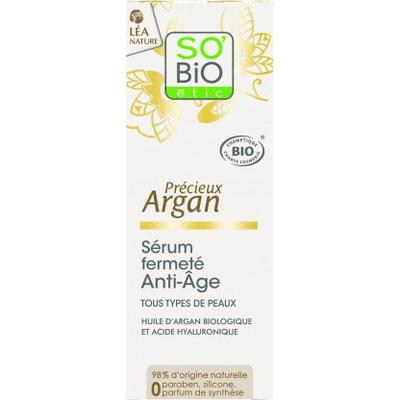 Serum intensywnie liftingujące z olejem arganowym So Bio