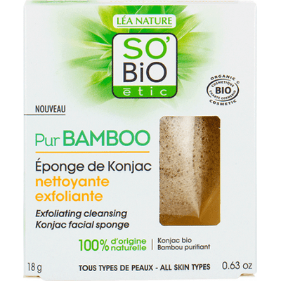 Gąbka konjac z bambusem So Bio