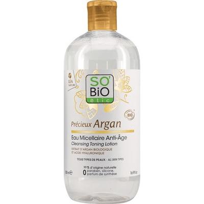 Przeciwzmarszczkowa woda micelarna z olejem arganowym So Bio