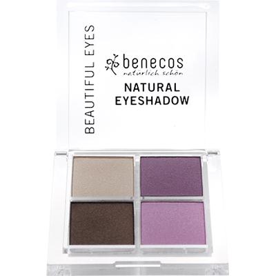 Paletka Quattro 4 naturalnych cieni do powiek - Beautiful eyes Benecos