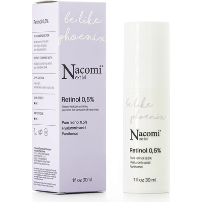 Next level - Serum retinol 0,5% Nacomi