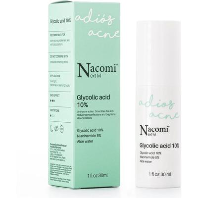 Next level - Serum kwas glikolowy 10% Nacomi
